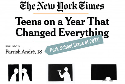 News: Senior Parrish André Featured in New York Times