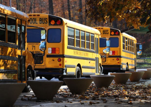 Photo: Park offers bus transportation to many neighborhoods in Baltimore City and County, Howard County, and Harford County. Our goal is to limit student travel time to no more than a one-hour ride. The fee for this service is based on one-way or round-trip travel, and number of children per family being transported.